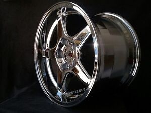 C4 Zr1 Wheels Triple Chrome 17x9 5 17x11 1988 1996 Corvette C4