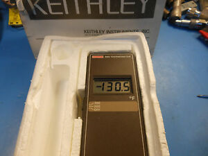 Keithley Instruments Inc 865 Thermometer Range 70f To 300f