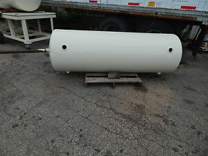 Horizontal Air Tank Approximately 275 Gallons Max Working Pressure 125