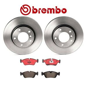 For Bmw E36 3 Series Front Brake Kit With Vented Rotors Ceramic Pads Brembo