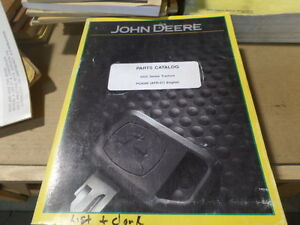 John Deere 5425 orchard hc 5625 hc 5725 orchard hc Tractor Parts Catalog manual