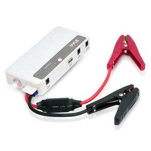 New Pyle Pbpk42 5 In 1 Portable Power Bank Car Jump Starter W flashlight