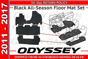 Genuine Oem Honda Odyssey All Season Floor Mat Set 2011 2017 08p13 Tk8 110a