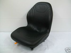 High Back Black Seat Bobcat 463 542 543 642 643 742 743 843 t190 Skid Steer cd