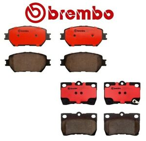 For Lexus Gs300 Is250 Front rear Brake Pad Sets Brake Kit Brembo Oem