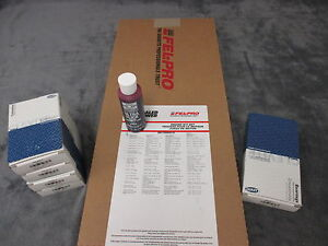 Chevy 292 Truck 1979 84 Felpro Gaskets Clevite Rod main Bearings