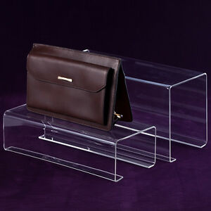 Fashion Clear Acrylic Handbag Rack Displays Stand For Boutique 118 47 59