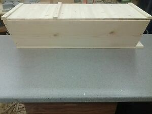 Bee Hive Top Bar With 30 Top Bars Backyard Bee Keeping Hive