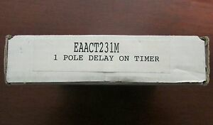 Carlo Gavazzi Electromatic Delay Relay Timer Single Pole Eaact231m