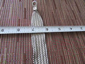 6 Long Universal Automotive Ground Strap 3 4 Tinned Braid With 1 4 Terminals