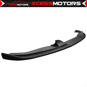 Fits 04 10 Bmw E60 H Style Add On Front Bumper Lip Unpainted Pp