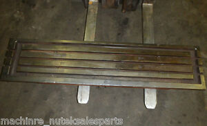 57 X 15 Steel Welding T slotted Table Cast Iron Layout Plate T slot Weld Jig