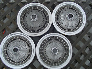 Dodge Chrysler Plymouth Mopar Wires 15 In Hubcaps Wheel Covers Center Caps Rims