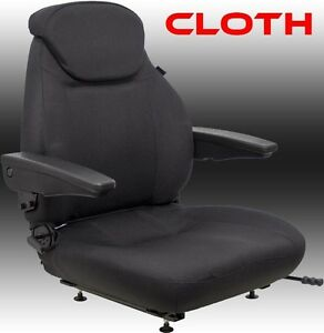 Takeuchi Mini Excavator Seat Fits Various Models s1