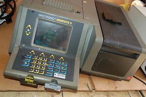 Spectronic Genesys 2 Uv vis Visible Spectrophotometer Kinetics
