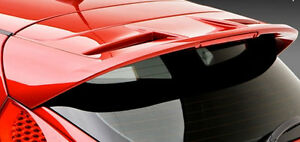 Ford Fiesta 5 Dr Hb 2011 Factory Style Rear Roof Spoiler Primer Finish W Light