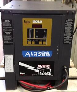 Used Automatic Battery Charger 24 Volt 380 Ah 1 Phase Nice Condition