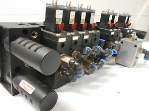 Solenoid Valves With Manifold h4 3