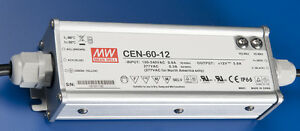 Meanwell Cen 60 12 60w 12vdc Class 2 Led Driver Power Supply For Sign metal