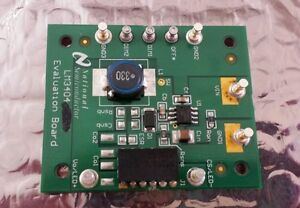Texas Instruments Lm3404 Evaluation Board W Data Sheets