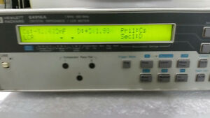 Agilent Hp E4916a Crystal Impedance Meter no Option