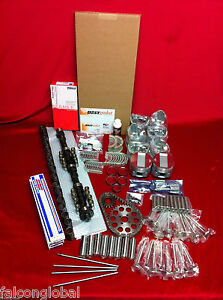 Lincoln 430 Deluxe Engine Kit Pistons Rings Cam Lifters Valves Springs 1963 65