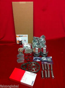 Lincoln 430 Engine Kit Pistons Rings Timing Bearings Fel Pro Gaskets 61 62