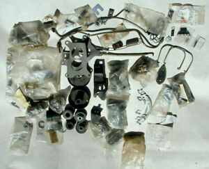 Mixed Leftover Build Box Parts Lot Chevy Mostly Corvette Camaro Chevelle Impala