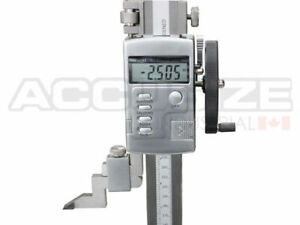 0 24 X 0 0005 Electric Digital Height Gage With Hand Wheel 0103 0606