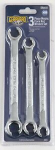Gearhead Metric Flare Nut Wrench Set 3 Piece Gh0031