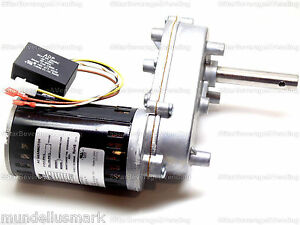 Servend Manitowoc Ice Auger Gear Motor Reducer P n 5000868 020003650
