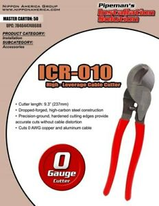 Heavy Duty Cable Wire Cutter Electrical Tool Up To 0 Gauge Copper Or Aluminum