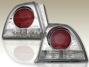 Fit For 1994 1995 Honda Accord 2 4dr Chrome Altezza Tail Lights