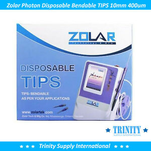 25 Zolar Photon Dental Diode Laser Disposable Bendable Tips