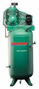 Upgraded Champion 7 5 Hp Air Compressor Vrv7 8 Free Installation Kit