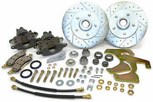 1948 56 Ford F 1 And F 100 Truck Front Disc Brake Conversion Wheel Kit