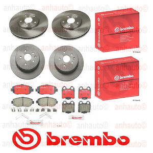 Genuine Brembo Brake Rotor Pad Kit Lexus Gs300 Gs400 Gs430 Is300 Sc430