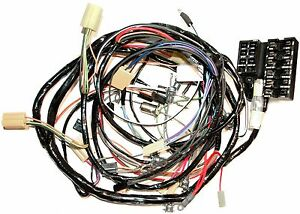 1962 Corvette Dash And Forward Lamp Wiring Harness New Reproduction