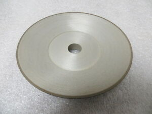 Diamond Grinding Wheel 15a2 Saucer 6 X 1 X 3 4 Arbor 120 Grit New U s a