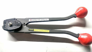 Signode Plastic Strap Crimper Bander Tool Model Ls1223 made In The Usa