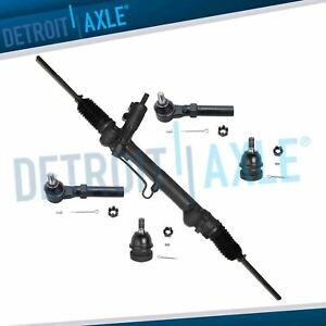 Power Steering Rack Pinion Assembly 2new Outer Tie Rod End 1994 2004 Mustang