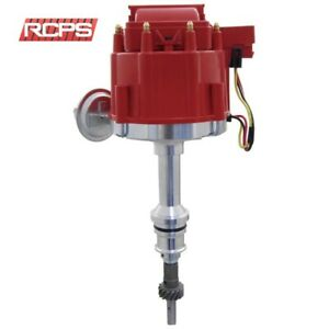 New Hei Distributor For Ford V8 302 5 0l Efi To Carburator Conversion Red Cap