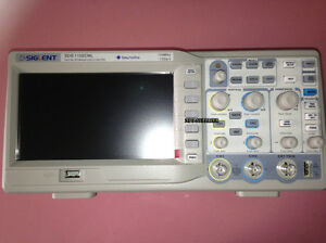 Siglent Oscilloscope 100mhz 1gsa s Real Time Sample Rate 2mpts Memory