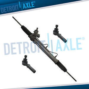 Complete Power Steering Rack And Pinion 2 Outer Tie Rods W Pressure Switch