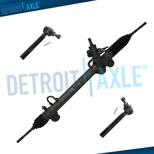 Complete Rack Pinion Assembly 2 New Outer Tie Rod For Rx330 Rx350 Highlander