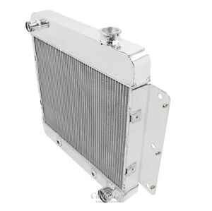As 1963 1967 Chevrolet Nova 3 Row Alum Radiator