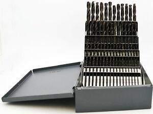 1 60 Stub Length Black Drill Set 135 point Quality Usa Rmt 95090876