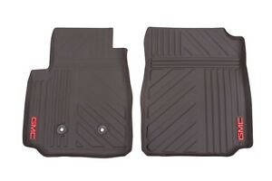 Gm 22968488 Cocoa Front Premium All Weather Floor Mats Fits 2015 2018 Gmc Canyon