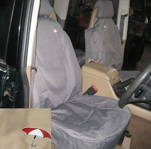 Land Rover Discovery 2 1998 2004 Front Seat Waterproof Seat Covers Set Sand