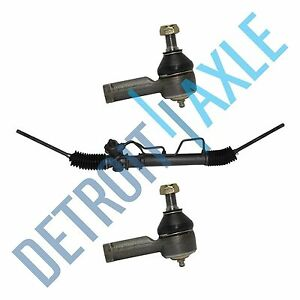 Complete Power Steering Rack Pinion Assembly Outer Tie Rods Ends For Hyundai